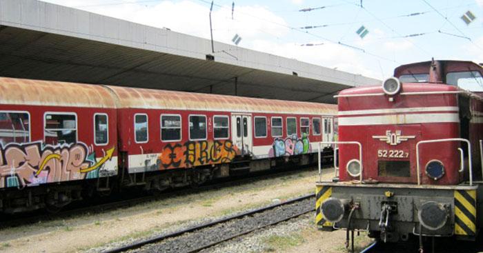 ▲ 터키를 출발해 불가리아를 거쳐 세르비아까지 가는 기차.
