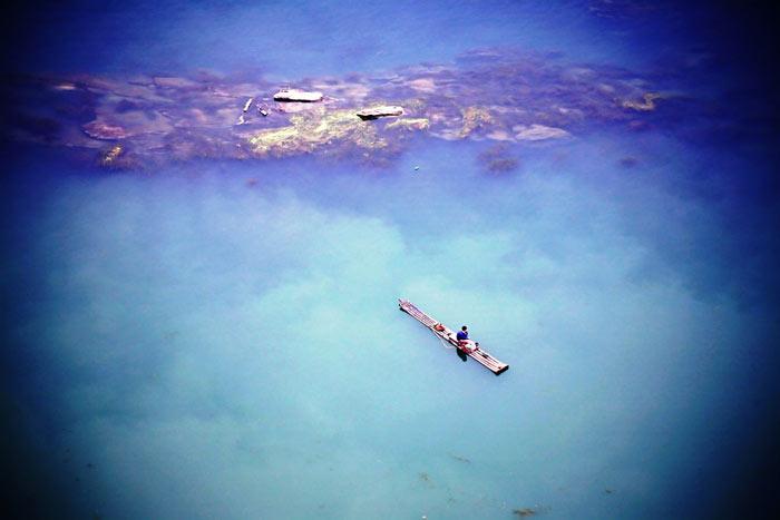 ▲ 고요함과 원시적 아름다움을 간직한 필리핀의 바다.