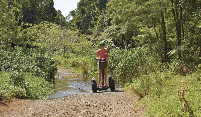 ▲ 호주 내륙 산과 들에선 다양한 체험 관광을 즐길 수 있다.