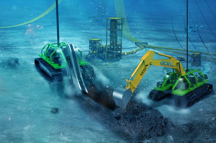▲ 로봇을 활용한 해양구조물 건설과 재난대응사업 활성화, 향후 물리탐사연구선 `탐해 3호`의 취항 등으로 포항은 첨단기술과 자원을 활용한 해양신산업의 중심지로 거듭날 전망이다.                                 /포항시 제공