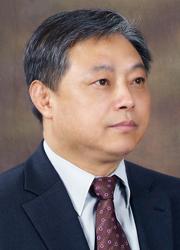 ▲ 강희룡<br /><br />서예가