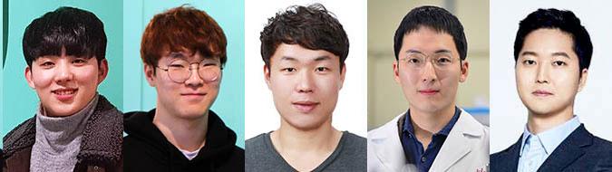 ▲ 박찬후 씨, 김현성 씨, 전형국 씨, 우성훈 씨, 차명훈 씨