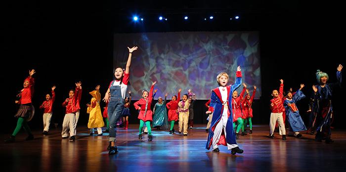 ▲ 포항시립연극단의 뮤지컬 '어린 왕자'는 아이들과 부모 모두에게 즐거움을 선사했다.