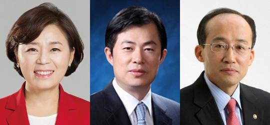 ▲ 김정재 국회의원, 이만희 국회의원, 추경호 국회의원