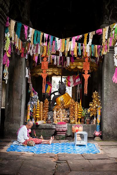 ▲ 캄보디아 사람들은 미소와 친절함으로 여행자를 반겨준다.