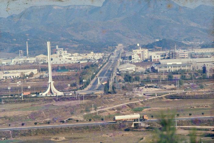 ▲ 1978년 구미국가산업단지 모습, /구미시 제공