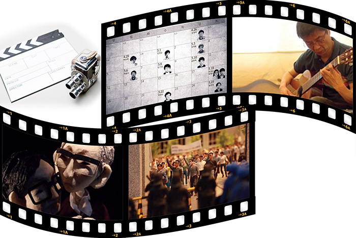 ▲ 영화 '1991, 봄'스틸컷.  /인디플러그 제공
